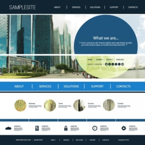 wordpress web design template